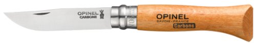 Opinel No 6 Carbon Steel Folding knife, Outdoor Stuffs