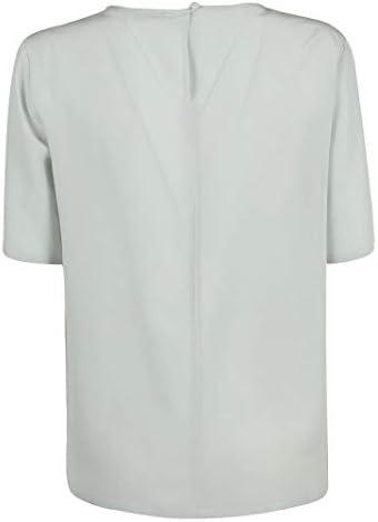 Fashion   Etro Woman 1360385040005 Green Silk T-Shirt   Spring Summer 20