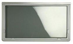 Brunner Campingartikel Ausstellfenster Polyplastic Grau 1000 X 530 SW/AZ91, 207/173