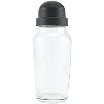 Libbey Glass Cocktail Shaker with Black Lid - 19.75 oz (1)]()