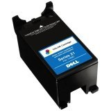 Dell Y499D 21 Standard Capacity Color Ink Cartridge for V313w/V515w/P513w/V715w/P713w