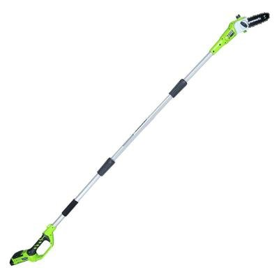 Greenworks G-24 8 in. 24-Volt Cordless Pole Saw by Greenworks