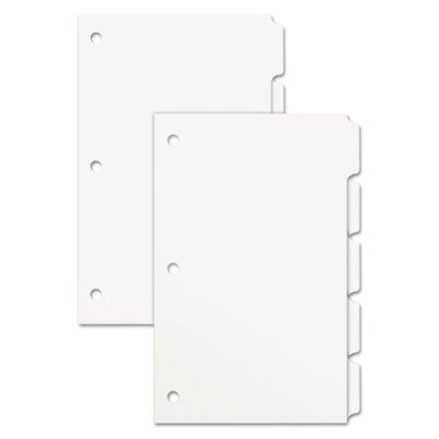 Xerox Single Reverse Collated Index Dividers, 5-Tab, 9 x 11, 250 Sets/Box