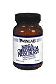 TWINLAB CHROMIUM PICOLINATE,MEGA, 100 CAP