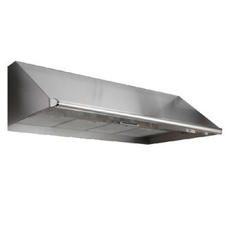 """Dacor EH4818SCH: 48"""" wide, 18"""" high, and 26 7/8"""" deep Epicure wall-mounted hood"""