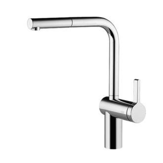 KWC Faucets 10.231.103.700 LIVELLO Pull Out Kitchen Faucet, Splendure Stainless ()