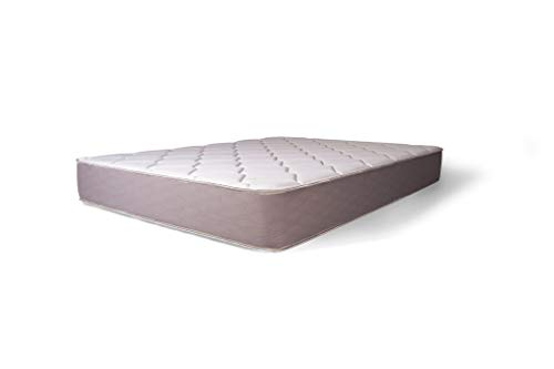 Dreamfoam Bedding Dream 9-Inch Two-Sided Medium Firm Pocketed Coil Mattress, Full- Made in the USA