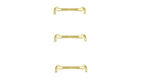 3 Small Female Ring Guards 14k Gold Filled Ring Spacers Fitter Sizer (Yellow) ()