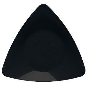 EMI Yoshi 10u0026quot; Triangle Dinner PlateBlack EMITRP10B ...  sc 1 st  Amazon.com & Amazon.com | EMI Yoshi 10