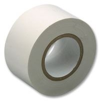 Cinta aislante de PVC para uso elé ctrico, 50 mm x 30 m, color blanco Kabel-Tex