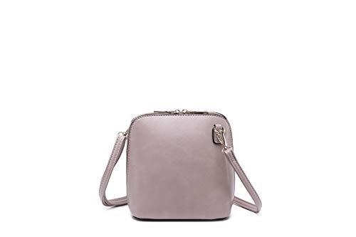 Bolso Piel Elbon al M534 mujer Rosa hombro Manchester Sintética rosa S Ltd para de t0UF0