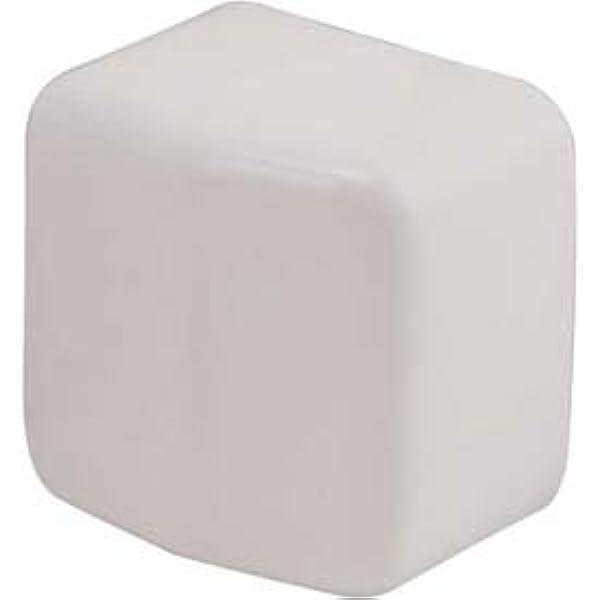 "Bag of 100 End Cap White for 1-5//8"" Strut"