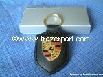 Porsche Crest Key Ring - Black from Porsche