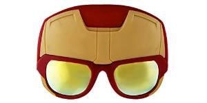 Iron Man Marvel Avengers Sunglasses. Iron Man Halloween & Costume - Tony Stark Man Sunglasses Iron