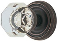 Emtek Products Crystal Knob - Emtek Products Crystal Knobset Passage (8100US10B)