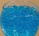 Huge Fun 1 Pound JellyBeadZ Brand Water Gel- Blue