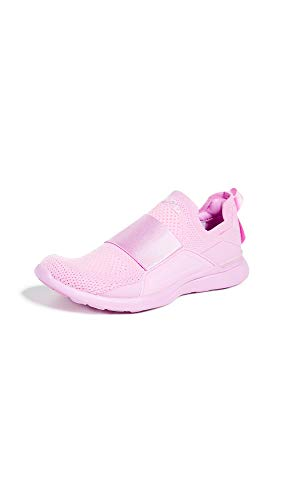 APL: Athletic Propulsion Labs Women's Techloom Bliss Sneakers, Power Pink, 6 M US