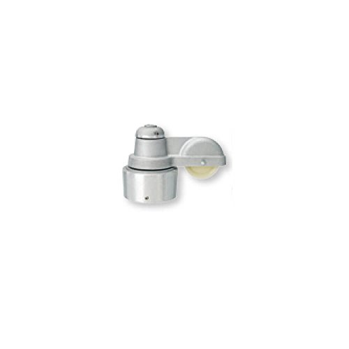 (Revolving truck (pulley) cap style, single halyard (Fits Over 1-7/8 in. to 2 in. Shaft Diameter))