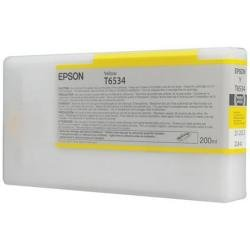 Epson UltraChrome HDR Ink Cartridge - 200ml Yellow (T653400)