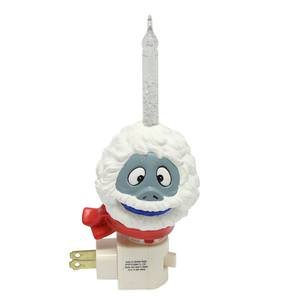 Roman Bumble Wearing Red Scarf Bubble Night Light, 8-Inch
