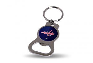 Rico Industries NHL Washington Capitals Sports Fan Kitchen Products, Red White & Blue, One Size ()