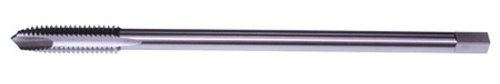 North American Tool 17610 HSS Small Shank, Spiral Point Extended Hand Tap, Uncoated Bright Finish, Plug Chamfer by North American Tool