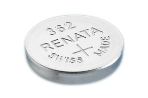 Renata 362 Button Cell watch battery, 5 Pack ()
