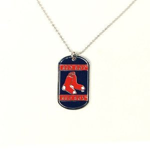 Siskiyou Boston Red Sox Dog Tag - Neck Tag