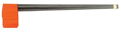 Johnson Level & Tool 3350-O Stake Flags, Glo Orange, 100-Bundle by Johnson Level & Tool ()