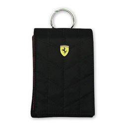 【まとめ 2セット】 Ferrari 公式ライセンス品 ポーチ (Ferrari POUCH VERTICAL)FEPFV1 FEPFV1BL   B07KNSYLQS