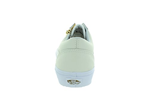 Vans Old Skool Zip - Zapatillas Unisex adulto Blanco