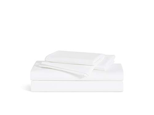 Brooklinen Luxe 4 Piece Bed Sheet Set - 100% Long Staple Cotton - -