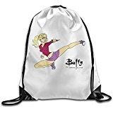 [MYKKI Buffy The Vampire Slayer Personality Travel Bag] (Buffy The Vampire Slayer Movie Costume)