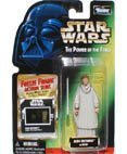 Star Wars, The Power of the Force Green Card, Mon Mothma Action Figure with Freeze Frame Slide, 3.75 (Star Wars Jedi Force)