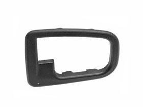 (BMW e36 inside door handle Covering Trim Black (RIGHT) passenger side)