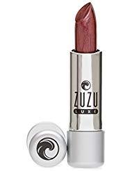 Zuzu Luxe Natural Lipstick Temptress Bronzed Grape Cool Frost