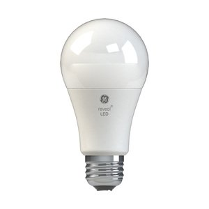 - GE Reveal 2-Pack 60 W Equivalent Color-enhancing A19 LED Light Fixture Light Bulb