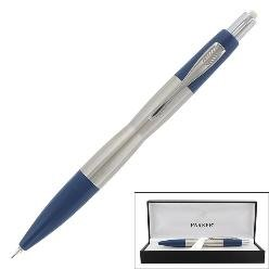Parker Infusion Stainless Steel Mechanical Pencil, 0.6mm, Blue Barrel, EA - PAR59205