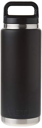 (Black) - YETI Rambler 770ml Vacuum Insulated Stainless Steel Bottle with Cap