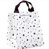 Oyfel Sac Isotherme Repas a Dejeuner Lunch Box Bag Étanche Toile Flamant Rose Etoiles Hibou Baleine Blanc pour Bebe Enfant Garcon Femme Homme Fille Adulte Famille Ecole Bureau 1 Pcs