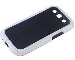 avci Base 4260310642758Carreaux Coque pour Samsung Galaxy S3i9300Noir/Blanc
