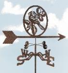 Weathervane Cardinal (Cardinal Roof Mount Weathervane)