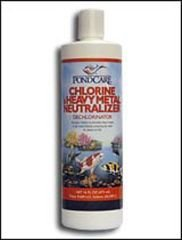 HOME-OUTDOOR PondCare 141G Chlorine and Heavy Metal Neutralizer 32-Ounce Garden, Lawn, Supply, Maintenance (Pondcare Chlorine Neutralizer)
