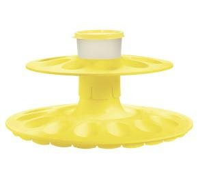 Tupperware EGG CEPTIONAL Deviled Tray Snack Dip Cup ()