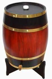 HEWEI Barra de Cocina Familiar Fiestas al Aire Libre para champán Cerveza barriles de Whisky Barril de Madera Grande 5L 10L 15L 20L Burdeos 20L
