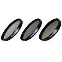 Vivitar Series 1 Multi-Coated HD PRO Imaging Filter Set (58mm UV/CPL/Intensifier)