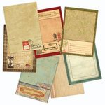 (7 Gypsies - Vintage Varsity Collection - Journal Pages)