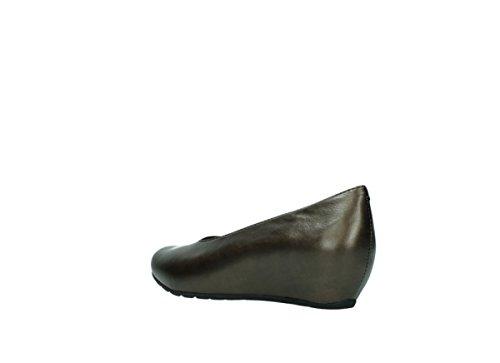 0565 High 90330 Kupfer nbsp;real Wolky Leder Metallic Heels OEwndwq