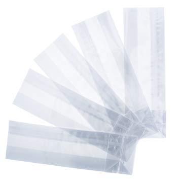 Bolsas de Celofán transparente con Base Cuadrada (6 x 19 de ...