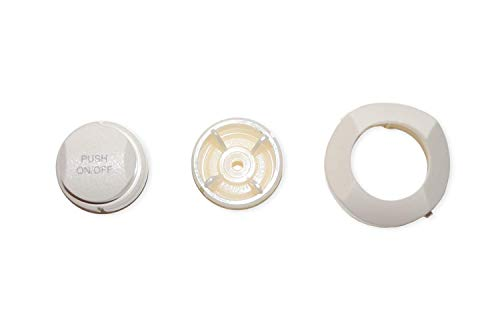 - Bezel and Button by Jacuzzi Whirlpool Bath (White)